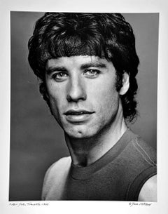 John Travolta, as Tony Manero in 'Stayin' Alive', signed by Jack Mitchell