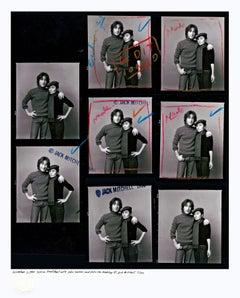 John & Yoko Proof Sheet