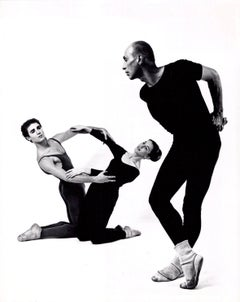 Jose Limon, Louis Falco & Sally Stackhouse in 'Choreographic Offering'