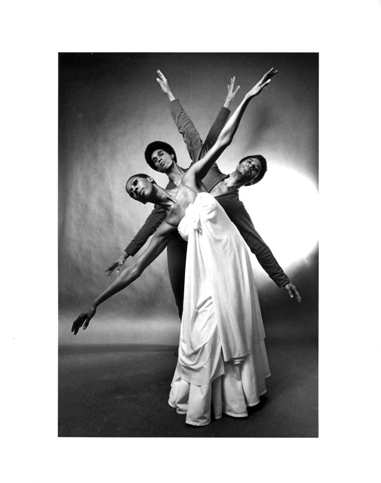 Jack Mitchell Black and White Photograph - Judith Jamison, Clive Thompson & Kelvin Rotardier Alvin Ailey 'Mary Lou's Mass'