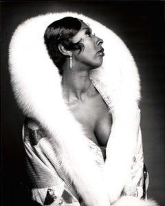 Judith Jamison in costume for 'Sophisticated Ladies' on Broadway studio portrait