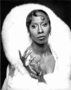 """Judith Jamison in """"Sophisticated Ladies"""" on Broadway, signed by Jack Mitchell"""