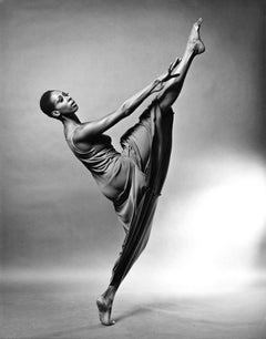 Judith Jamison Performing Alvin Ailey's 'Revelations', signed by Jack Mitchell