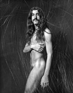 Kenny Ortega, star of 'Hair' multiple exposure, nude, signed by Jack Mitchell