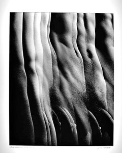 Male Nude from Numbered Nudes Series, multiple exposure signed exhibition print