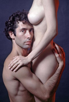 Marcus & Debbie Williamson, nude study for 'After Dark' magazine