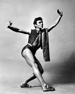 Martha Graham dancer Robert Cohan 'Part Real Part Dream' signed by Jack Mitchell