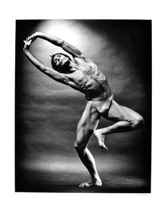 Martha Graham dancer Tim Wengard, signed exhibition print