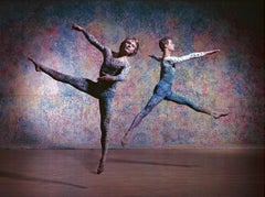 "Merce Cunningham Dance Company 'Summerspace', Color 17 x 22""  Exhibition Photo"
