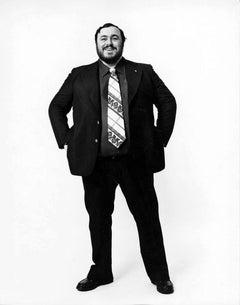 Metropolitan Opera Italian Operatic Tenor Luciano Pavarotti