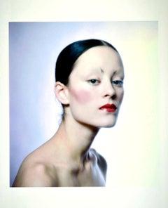 Model & Andy Warhol Superstar Jane Forth photographed for Vogue