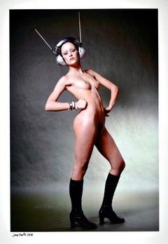 Model & Andy Warhol Superstar Jane Forth photographed nude for Vogue