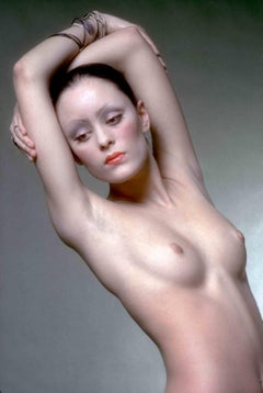 Model & Andy Warhol Superstar Jane Forth photographed nude for Vogue