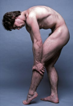 Model Jeff Guyton, nude, signed by Jack Mitchell