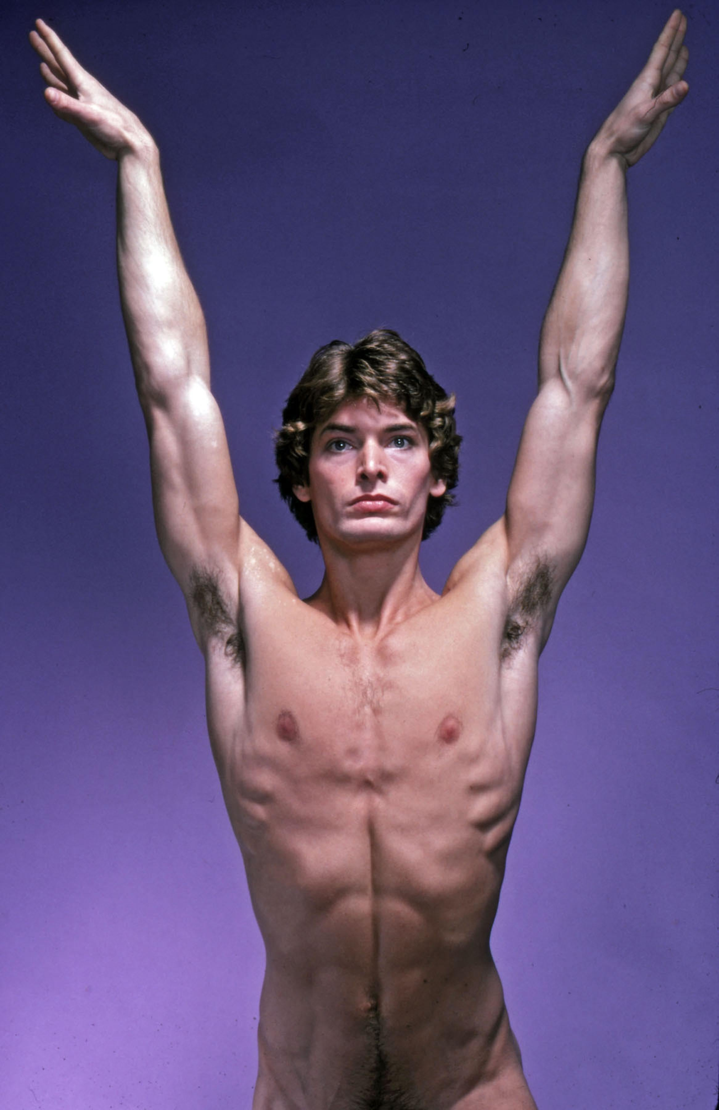 Model Mark Hammond, nude, signed by Jack Mitchell