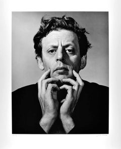 Musician/Composer Philip Glass iconic studio portrait, signed exhibition print