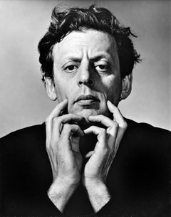 Musician/Composer Philip Glass, Studio Portrait