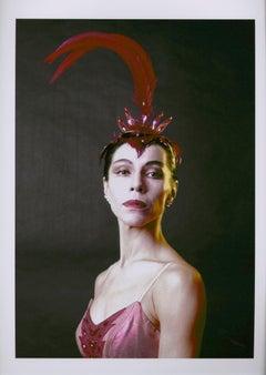 "Native American Ballerina Maria Tallchief in ""The Firebird"""