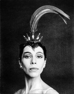 Native American Prima Ballerina Maria Tallchief in 'Firebird' at the NYC Ballet