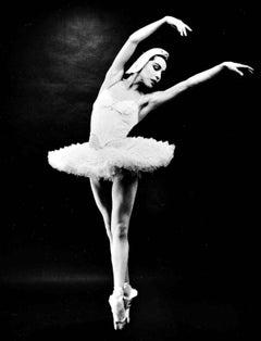 "Native American Prima Ballerina Maria Tallchief in ""Swan Lake"" signed by Jack"