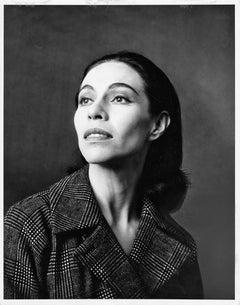 Native American Prima Ballerina Maria Tallchief Studio Portrait