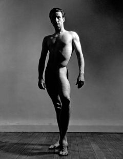 New York City Ballet dancer Frank Ohman nude, signed by Jack Mitchell