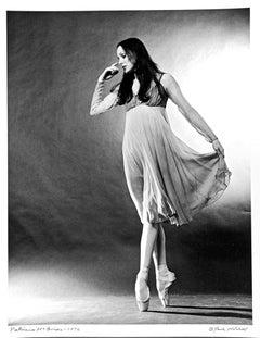 New York City Ballet principal dancer Patricia McBride, signed by Jack Mitchell