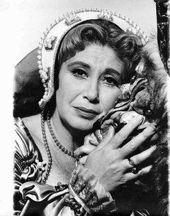 New York City Opera Star Beverly Sills as 'Anna Bolena'