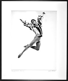 NYCB Dancer/Choreographer Edward Villella, signed exhibition print