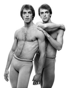 NYCB dancers and twin brothers Peter & Paul Frame