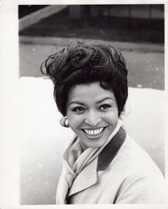 Obie-winning Broadway stage actress Gloria Foster, photographed in New York City