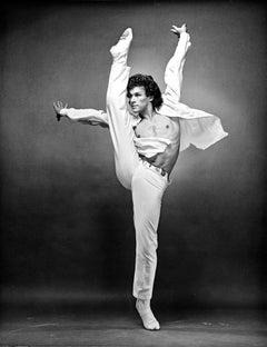 Paris Opera Ballet principal dancer Patrick Dupond, signed by Jack Mitchell
