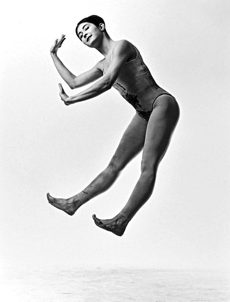 Jack Mitchell Black and White Photograph - Paul Taylor dancer Twyla Tharp