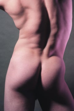 Phil Sweatman, nude, signed by Jack Mitchell