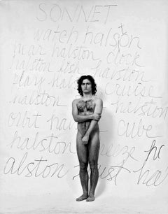 Poet/Photographer/Andy Warhol assistant Gerard Malanga