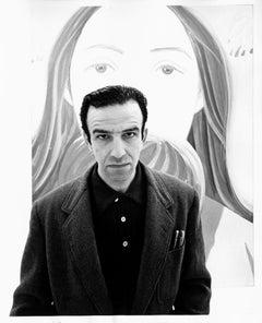 Pop Artist Alex Katz at New York City Fischbach Gallery exhibition of his work