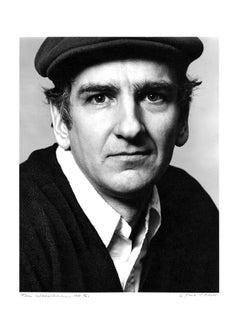 Pop Artist Tom Wesselmann, studio portrait, signed by Jack Mitchell