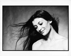 Portrait Study of Classical Ballerina Carla Fracci