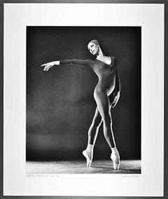 Prima Ballerina & Choreographer Natalia Makarova, signed exhibition print