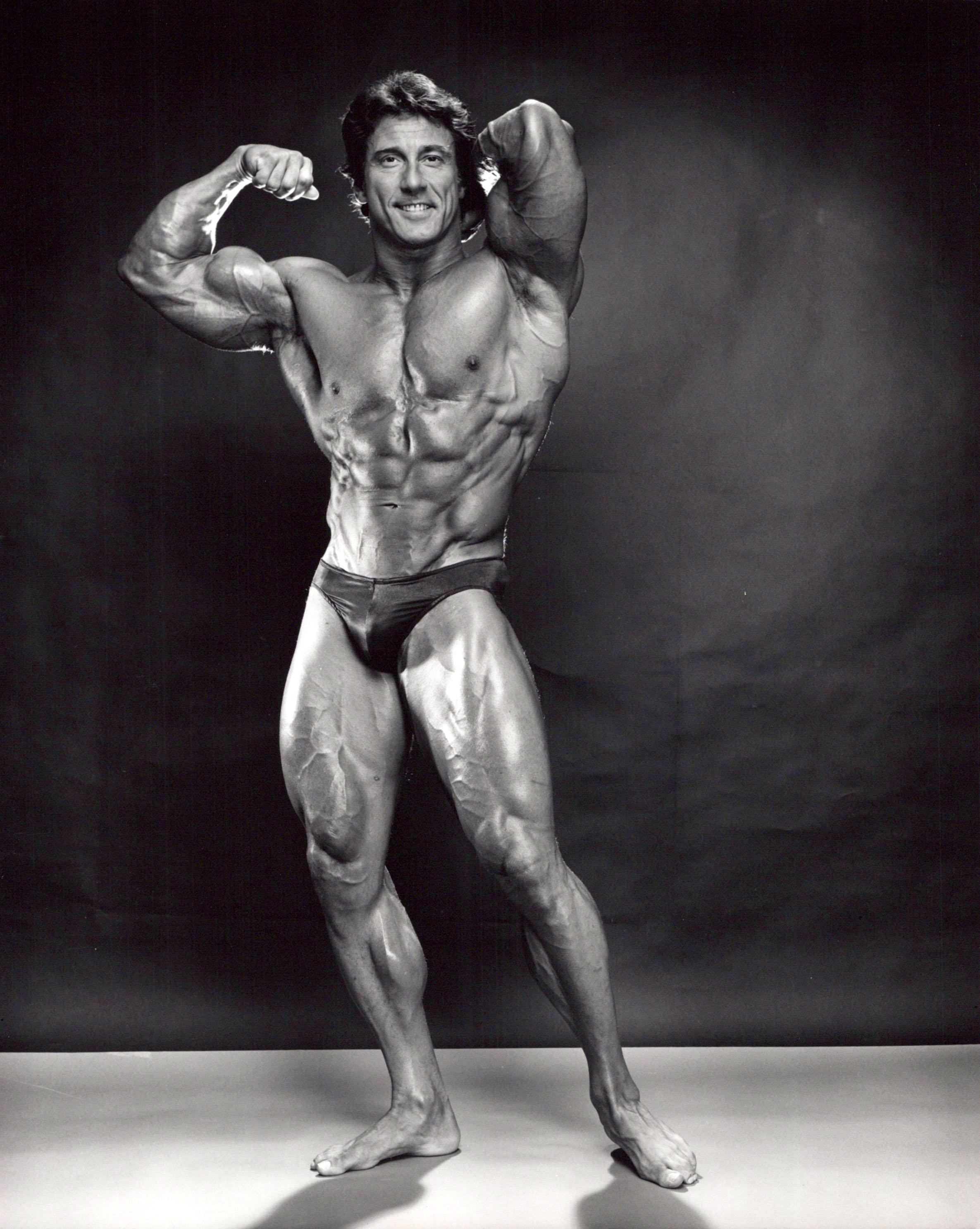 Professional Bodybuilder and three time Mr. Olympia winner Frank Zane