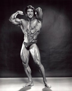 Professional Bodybuilder and three time Mr. Olympia winner Frank Zane