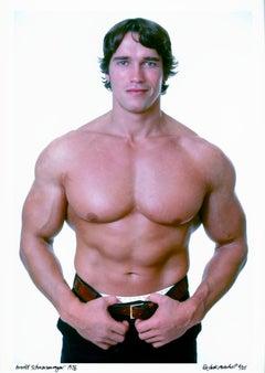 Professional bodybuilder Arnold Schwarzenegger
