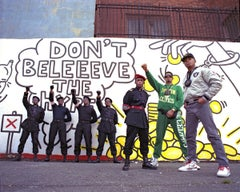 "Public Enemy 'Don't Believe the Hype', Color 17 x 22"" Exhibition Photograph"