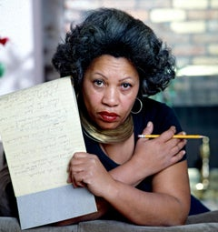 "Pulitzer-Prize Winning Author Toni Morrison, 17 x 22"" Exhibition Photograph"