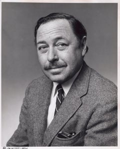 Pulitzer prize-winning playwright Tennessee Williams