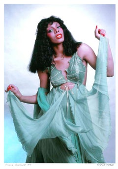 Queen of Disco Donna Summer 'After Dark' cover story, signed by Jack Mitchell