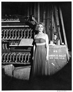 Rebekah Harkness, American composer, sculptor, & founder of the Harkness Ballet