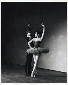 Rudolf Nureyev & Sonia Arova, his historic American debut performance at B.A.M.