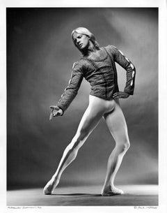 Russian-American Dancer Alexander Godunov, signed by Jack Mitchell