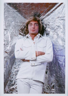 "Singer/songwriter Barry Manilow, cover shot for ""After Dark"" magazine"